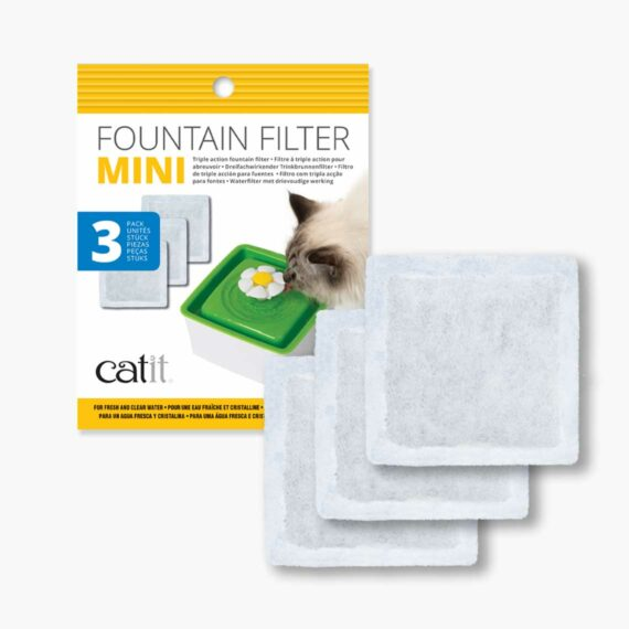 44005 - Mini Fountain Filters – 3 pack