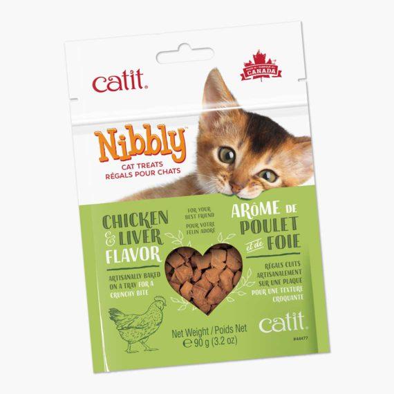 44477 - Catit Nibbly Crispy - Chicken & Liver
