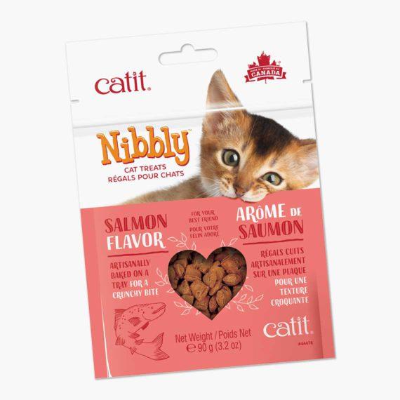 44478 - Catit Nibbly Crispy - Salmon