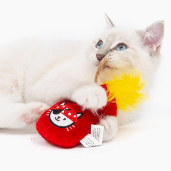Pirates - Catnip Toy - Gold Pouch B