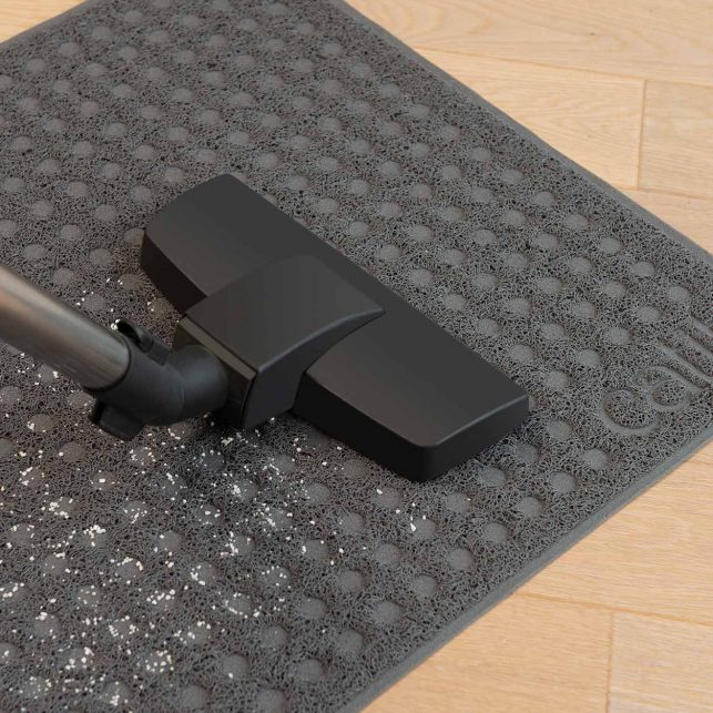 easy to vacuum
