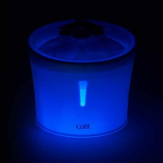 LED flower fountain