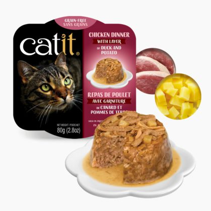 Catit Chicken Dinner - Duck and Potato