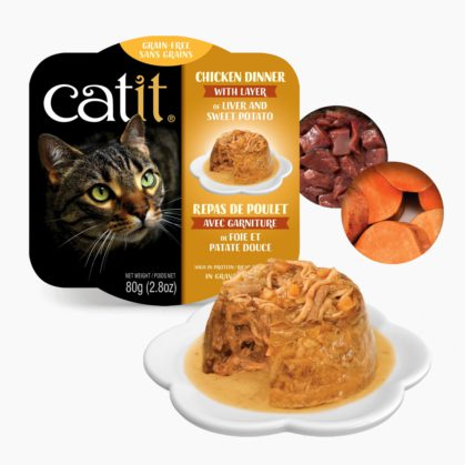 Catit Chicken Dinner - Sweet Potato