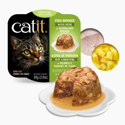 Catit Fish Dinner - Talapia and Potato