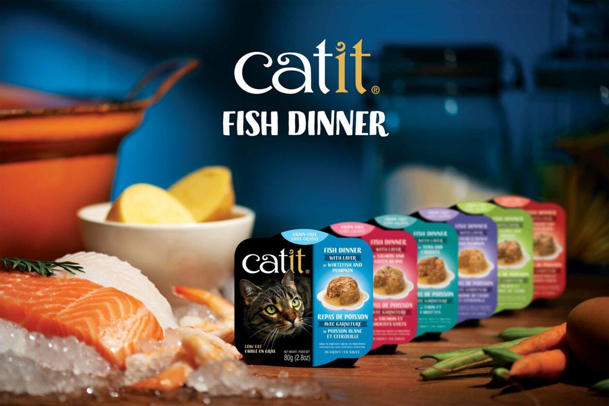 Catit Fish Dinner