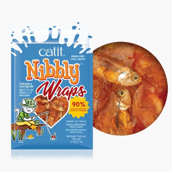 44483 - Nibbly Wraps Chicken & Fish