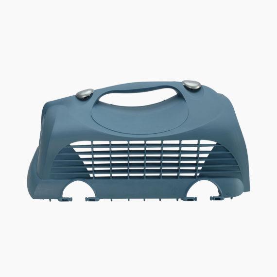 50821 - Top hatch left door with clips - Blue-Grey