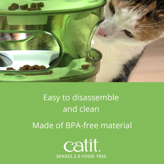 Senses 2.0 Food Tree is easy to disassemble and clean and is made of BPA-free material