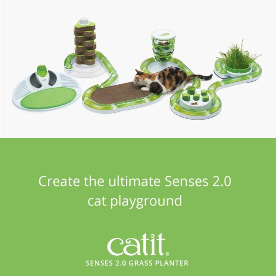 Create the ultimate Senses 2.0 cat playground with the Senses 2.0 Grass Planter