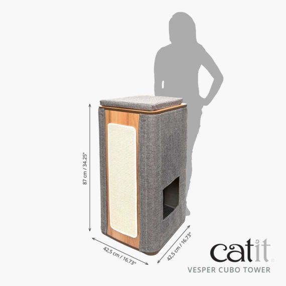 Catit Vesper Cubo Tower – size