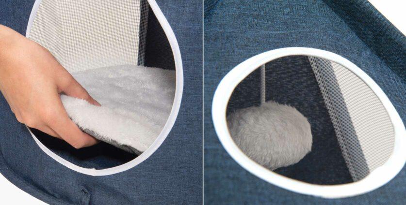 Soft cushion & plush ball