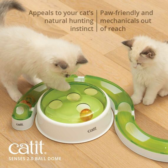 Appeals to your cat's natural hunting instinct - paw-friendly and mechanicals out of reach