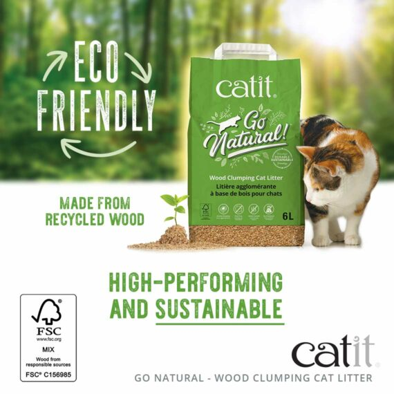 Eco friendly - made from recycled wood - high performing and sustainable