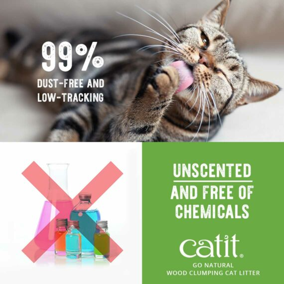 99% dust-free and low-tracking Unscented and free of chemicals