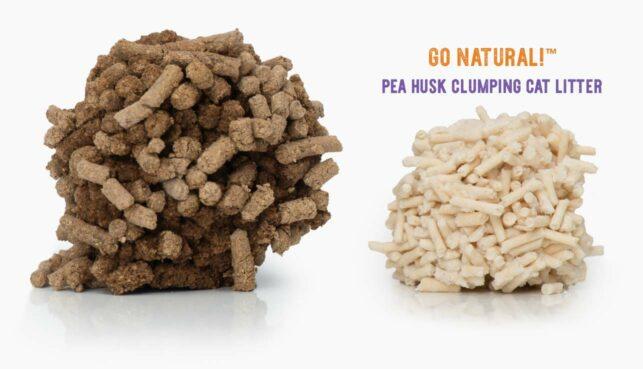Go Natural Pea Husk comparison