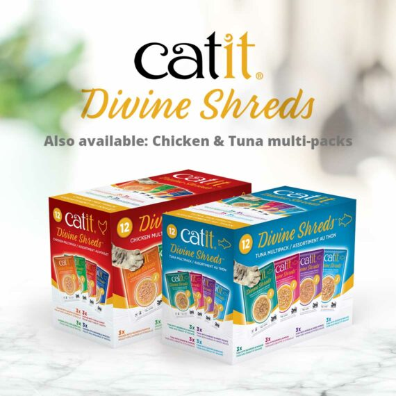 Catit Divine Shreds - Also available: Chicken & Tuna multi-packs