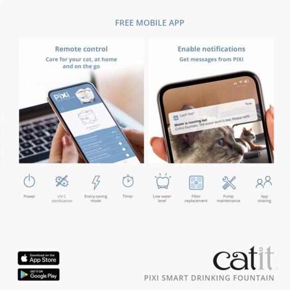 43751_Catit_PIXI Smart Fountain_Panel 3_EN