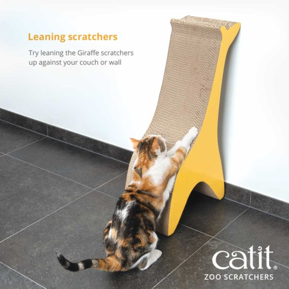 Leaning scratchers