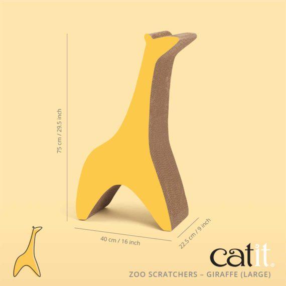 Zoo Scratcher Giraffe large size